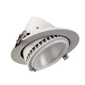 Foco Proyector LED Samsung 120lm/W Direccionable Circular 38W   3000K 5 AÑOS GARANTIA