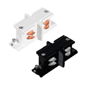 Conector Tipo I para Carril Trifásico Blanco