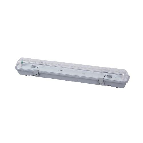 Pantalla Estanca para un Tubo de LED 600mm   Conexión un Lateral 2