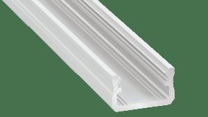 Perfil LED  LUMINES Tipo A Blanco Lacado 1 m