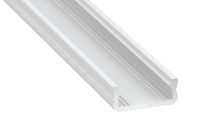Perfil LED  LUMINES Tipo D Blanco Lacado 1 m