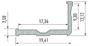 Perfil Modelo Venecia Bruto 2020