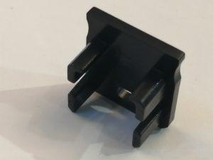 Tapa Génova ABS C/Agujero Negro