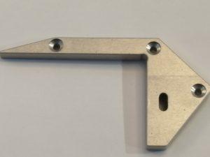 Tapa Siena Aluminio Dcha. C/Agujero Gris