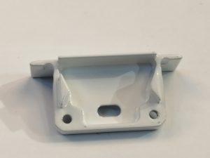 Tapa Savona Aluminio C/Agujero Gris