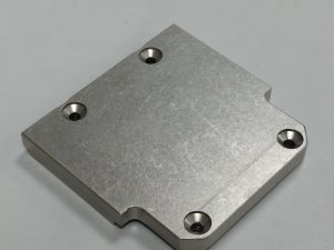 Tapa Latina Aluminio S/Agujero Gris