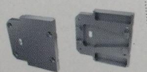 Tapa Latina Aluminio C/Agujero Gris
