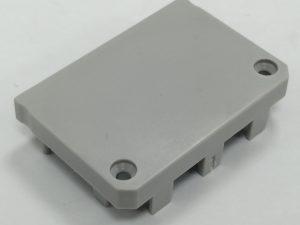Tapa Padua Aluminio S/Agujero Gris