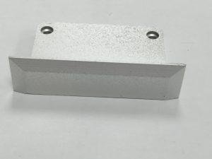 Tapa Parma Aluminio S/Agujero Gris