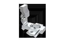 Conector sujección Aluminio Plasencia Derecha