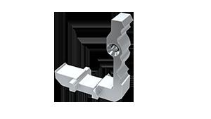 Conector sujección Aluminio Plasencia M1