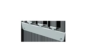 Tapa Ravenna M1 Aluminio C/Agujero Blanco