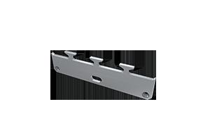 Tapa Ravenna M1 Aluminio C/Agujero Gris