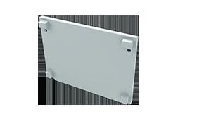 Tapa Plasencia M3 Aluminio S/Agujero Blanco