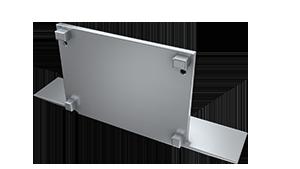 Tapa Plasencia M3 acabado completo Aluminio S/Agujero Gris