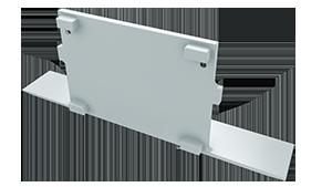 Tapa Plasencia M4 acabado completo Aluminio S/Agujero Blanco