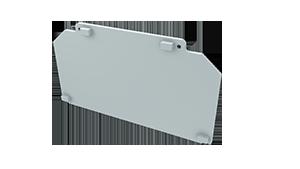 Tapa Ravenna M3 Aluminio S/Agujero Blanco