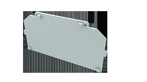 Tapa Ravenna M4 Aluminio S/Agujero Blanco