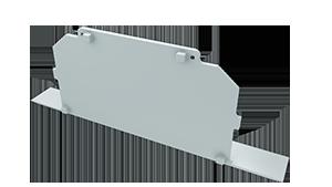 Tapa Ravenna M4 acabado completo Aluminio S/Agujero Blanco