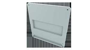 Tapa Ravenna M2 + Ravenna Aluminio C/Agujero Blanco