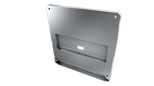 Tapa Ravenna M2 + Ravenna Aluminio C/Agujero Gris